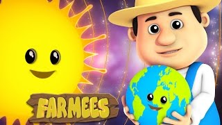 The Planets Song  Nursery Rhyme  Kids Songs  Baby Rhymes by Farmees