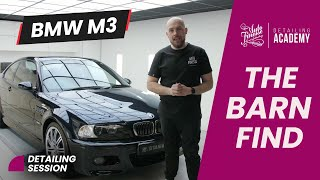 Barn find BMW M3 transformation by Auto Finesse