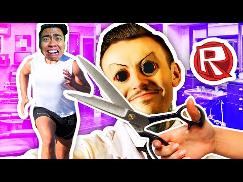 ESCAPING THE BARBERSHOP!   Roblox