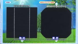 東芝の住宅用太陽光発電システムとecoな暮らし 導入編のビデオです。