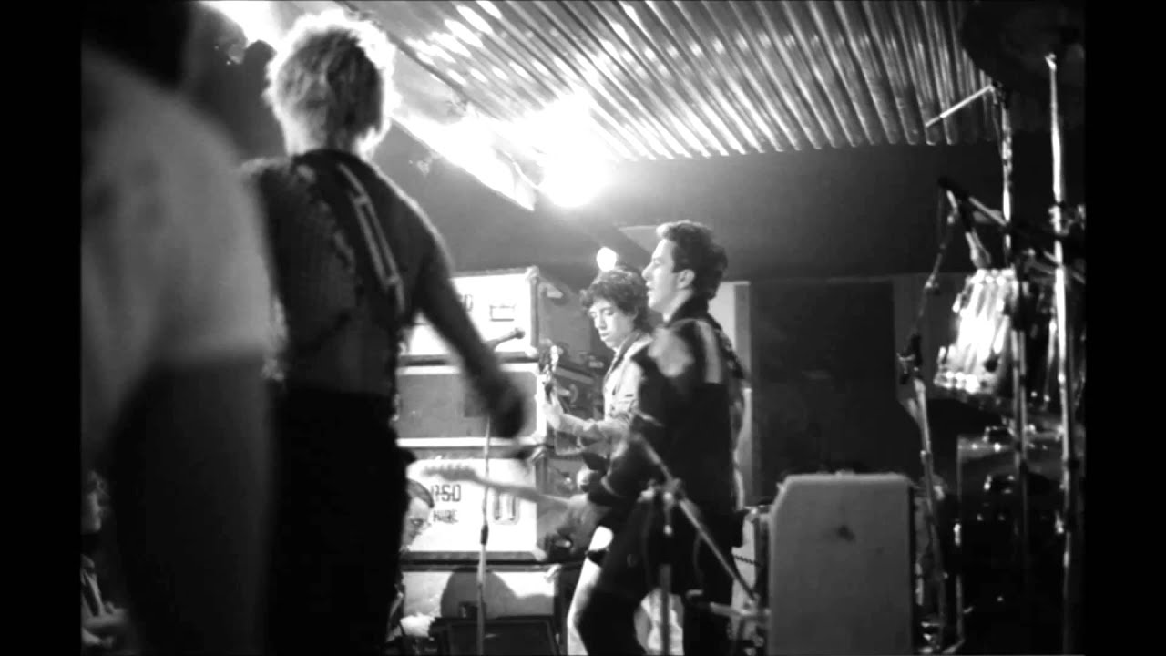 The Clash at Dad's Dancehall Malmo, Sweden October 7, 1977 ...