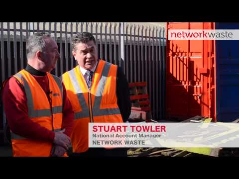 Stockpile Waste To Fill Every Skip To The Max | Best Practice in Waste Management | NETWORK WASTE