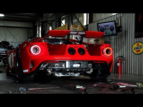 Ford Gt Heritage Edition Dyno Test Reveals  Rear Wheel Hp