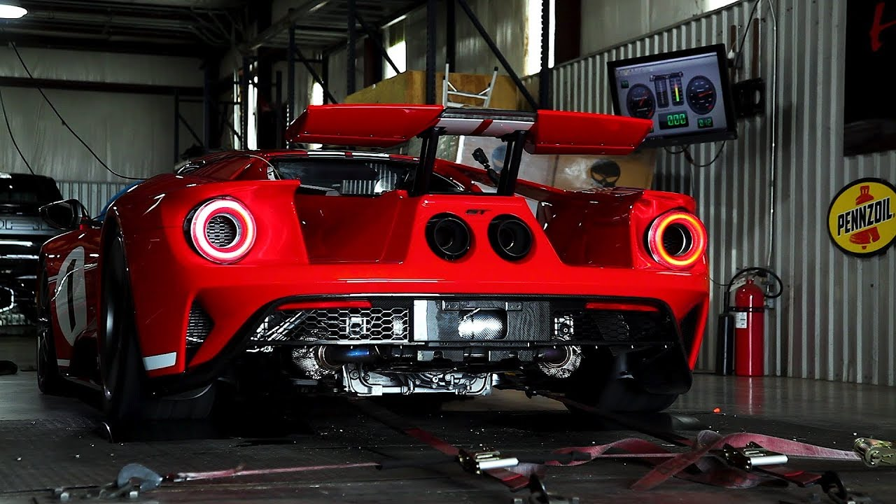 Ford Gt Heritage Edition Chassis Dyno Testing