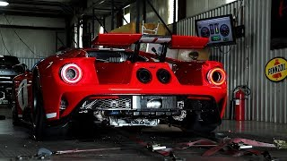 2018 Ford GT Heritage Edition Chassis Dyno Testing