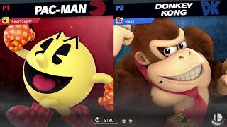PAC-MAN VS DONKEY KONG ONLINE SUPER SMASH BROS. ULTIMATE