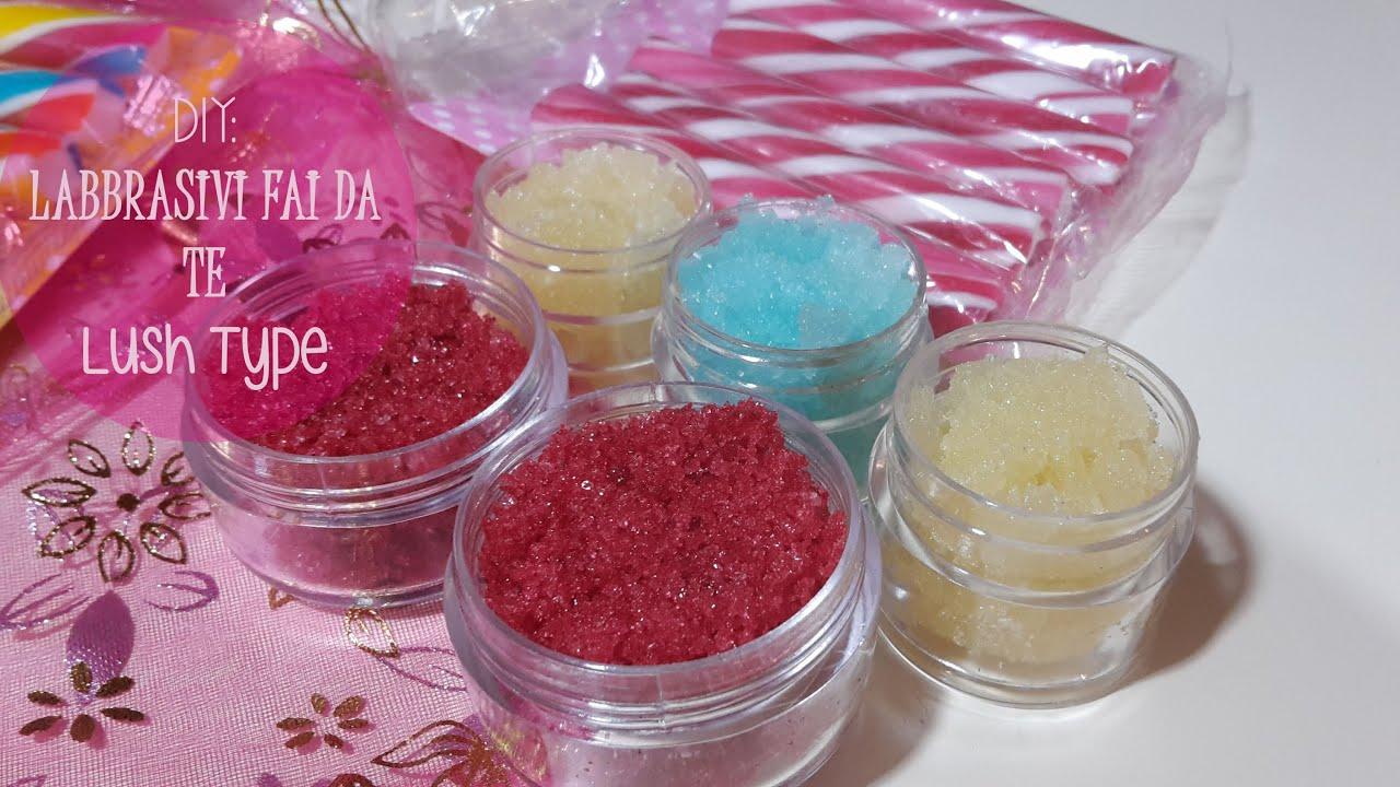 Idee regalo fai da te scrub labbra golosi tipo lush youtube - Pacchetti natalizi fai da te ...