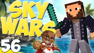 """Minecraft Sky Wars: Game 56! """"The Muffin Man!"""" w/Athix"""