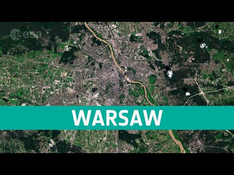 Earth from Space: Warsaw, Poland