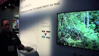Sony 4K X900A - Ultra High Definition Television - Sony @ CES 2013
