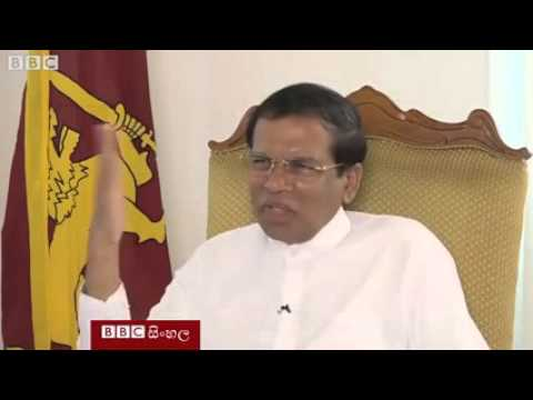 The Interview with President Maithripala Sirisena BBC