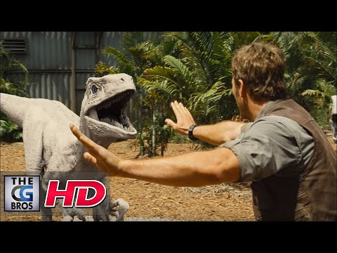 "CGI VFX Breakdown : ""Jurassic World:  Breakdown Reel"" - by Image Engine"