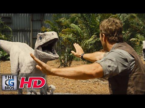 CGI VFX Breakdown HD: Jurassic World:  Breakdown Reel - by Image Engine