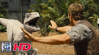 "CGI VFX Breakdown HD: ""Jurassic World:  Breakdown Reel"" - by Image Engine"