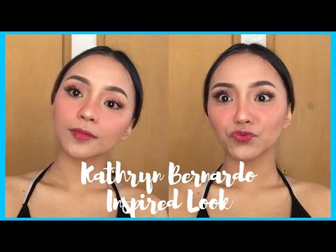 Kathryn Bernardo's Inspired Makeup Look (Pang Morena) | Patricia Cea