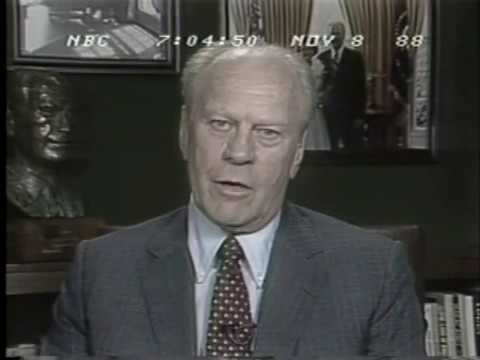 Election Night 1988 NBC News Coverage