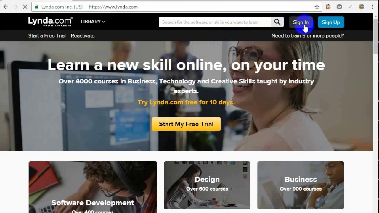 [Again Working] Download Full Course with single Click lynda com