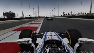 F1 2017 Game - THAT last lap!