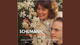 5 Stücke im Volkston, Op. 102: No. 5, Stark and markiert (Transcr. for Piano and Cello)