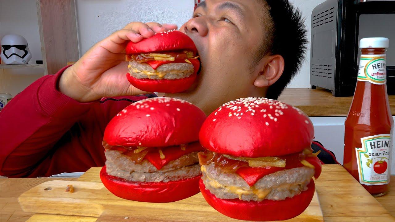 เบอร์เกอร์ยักษ์สีแดงเดือด Heinz Burger : BANKII
