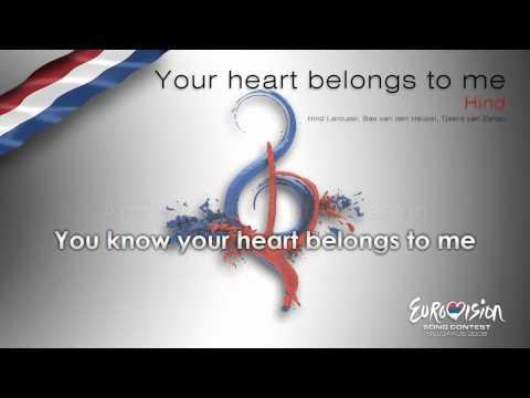 "Hind - ""Your Heart Belongs To Me"" (The Netherlands) - [Karaoke version]"