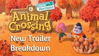 NEW Animal Crossing: New Horizons Trailer Breakdown