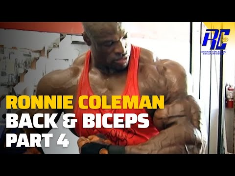 Ronnie Coleman The Unbelievable Remastered in 1080 HD - Part 4 Back & Bi's