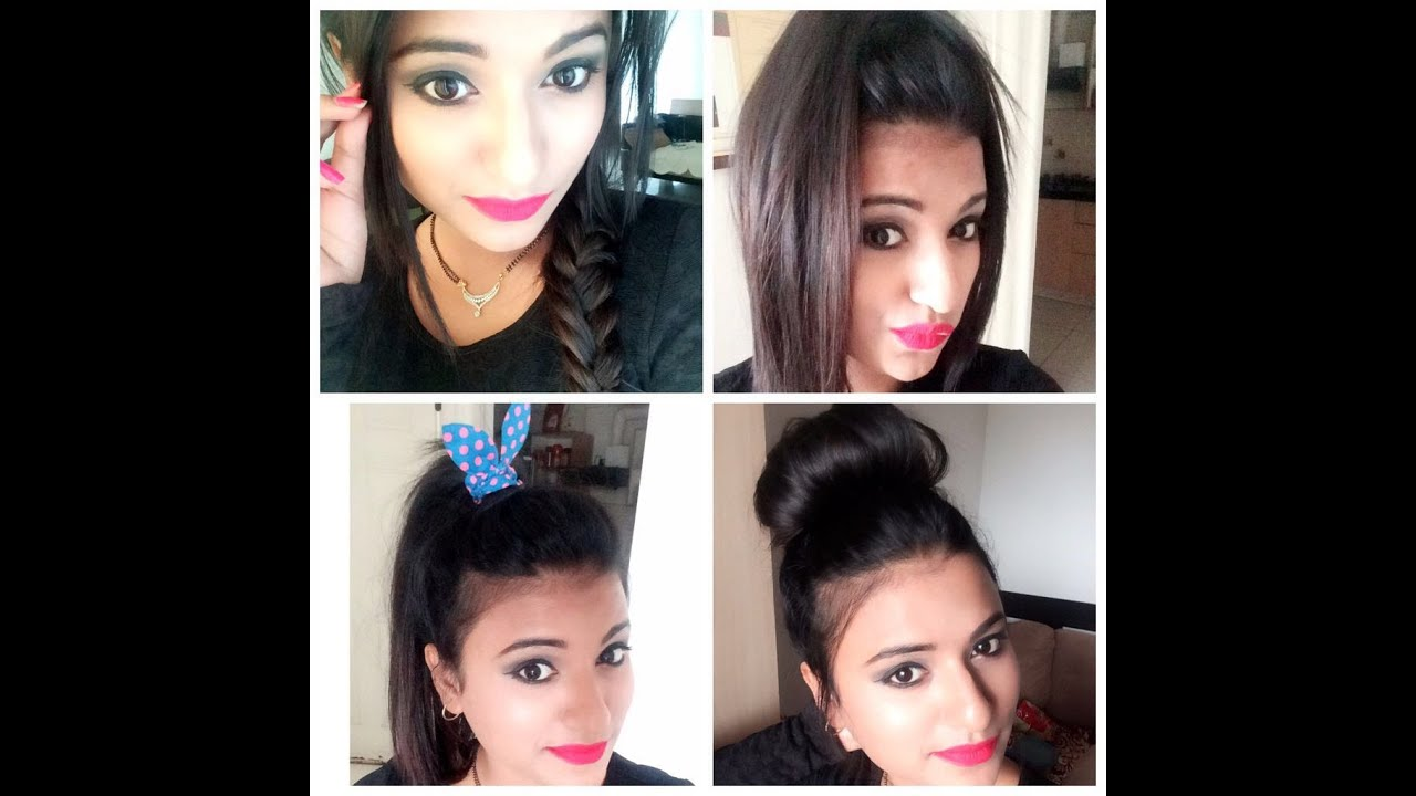 easy hairstyles for thin hair - youtube