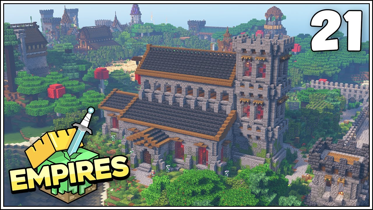 Empires SMP - THE CHURCH OF THE BLOOD SHEEP!!! - Ep.21 [Minecraft 1.17 Let's Play]