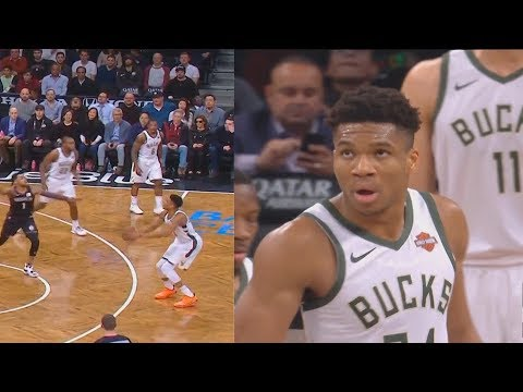 Giannis Gets Laughed At & Disrespected By Nets After Airball Then Destroys Them! Bucks vs Nets