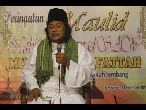 KH Achmad Muwafiq.Maulud Nabi Muhammad di Musholla Al Fattah