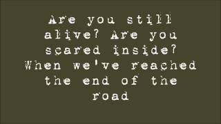 Story Of The Year - Terrified (Lyrics On Screen)