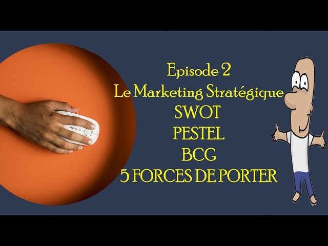 أجي تفهم Le Marketing Stratégique و Matrices SWOT, PESTEL et BCG