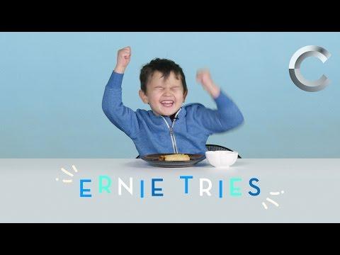 Ernie Tries | Kids Try | Cut