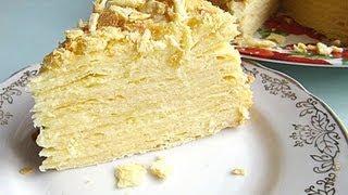 Классический Торт «Наполеон» видео рецепт(Это классический рецепт торта