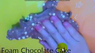 SLIME MOI/ FOAM CHOCOLATE CAKE/ BY ??