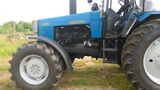 Приймання трактора МТЗ 1221 ВР