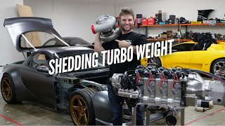 My 106mm Turbo LOST 11 Pounds and Reduced LAG!