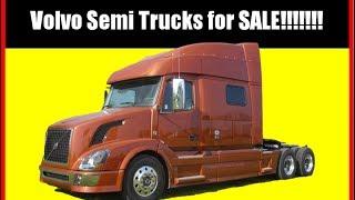 Volvo Semi Trucks for Sale