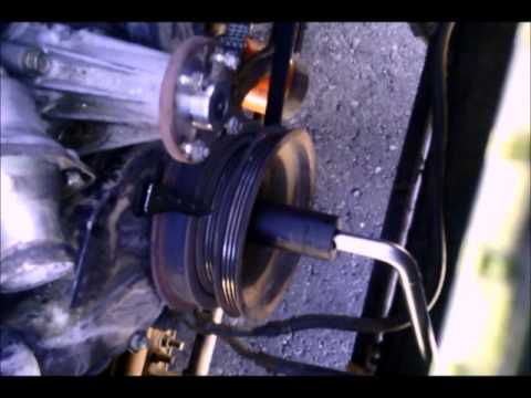 Xterra 2000 Crank Pulley Bolt Removed Youtube
