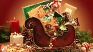 La Bella Baskets | Kim's La Bella Baskets Christmas Gift Baskets Holiday Sleigh
