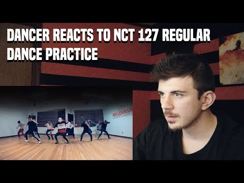 DANCER REACTS NCT 127 엔시티 127 Regular English Ver Dance Practice