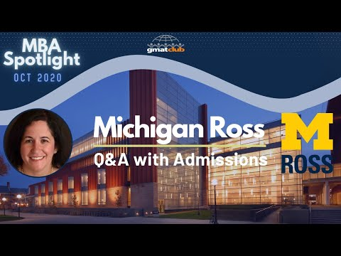 Michigan Ross | MBA Spotlight Oct 2020 | Q&A With Ross Adcom