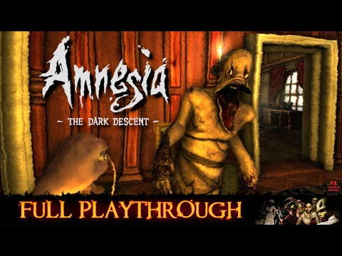 Amnesia : The Dark Descent [PS4] Full Playthrough **All Endings** Longplay Gameplay Walkthrough HD