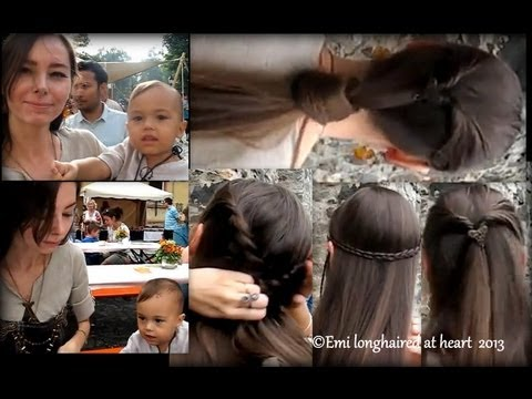 4 quick medieval hair do's ✛ medieval fair, clothing & music ღ