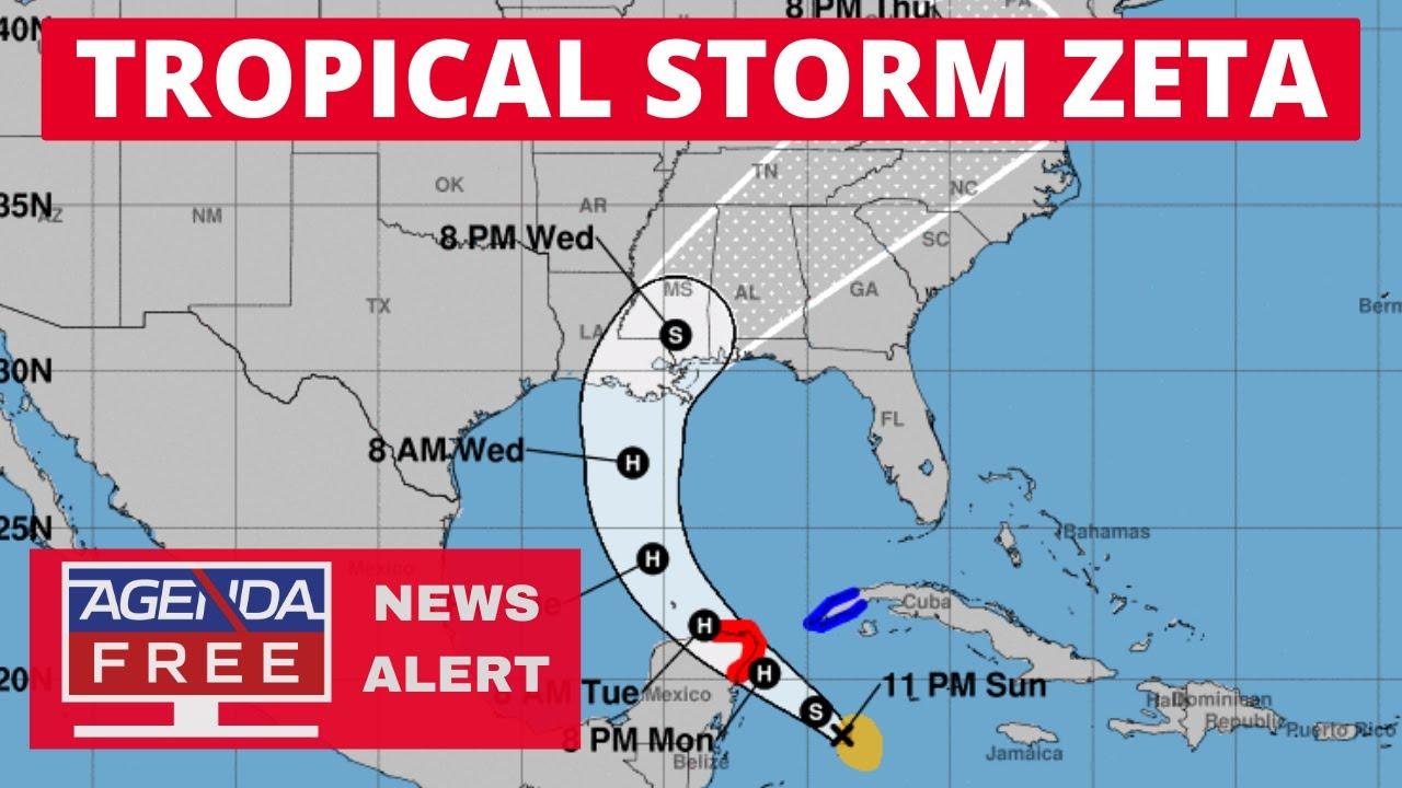Hurricane Threat for Gulf Coast - LIVE TROPICAL STORM ZETA COVERAGE