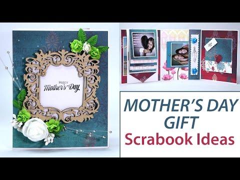 DIY Mother's Day Gifts, Scrapbook Ideas, DIY Photo Album, Brag Book, Handmade Cards