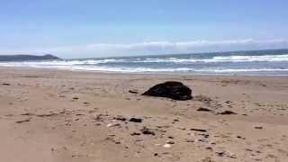 Atlantic Ocean at Tregantle Beach, Whitsand Bay, Cornwall