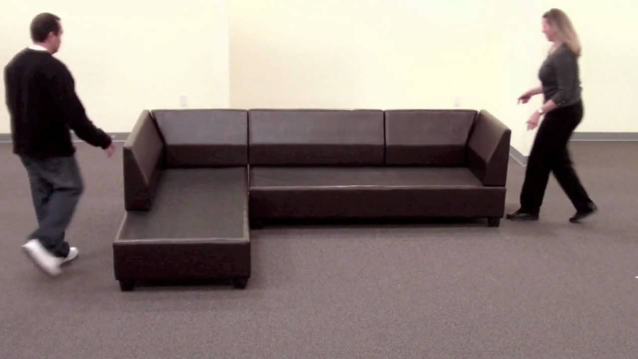 Klassische Sofas You Can Assemble Bobkona Sectional Sofa Reversible Assembly