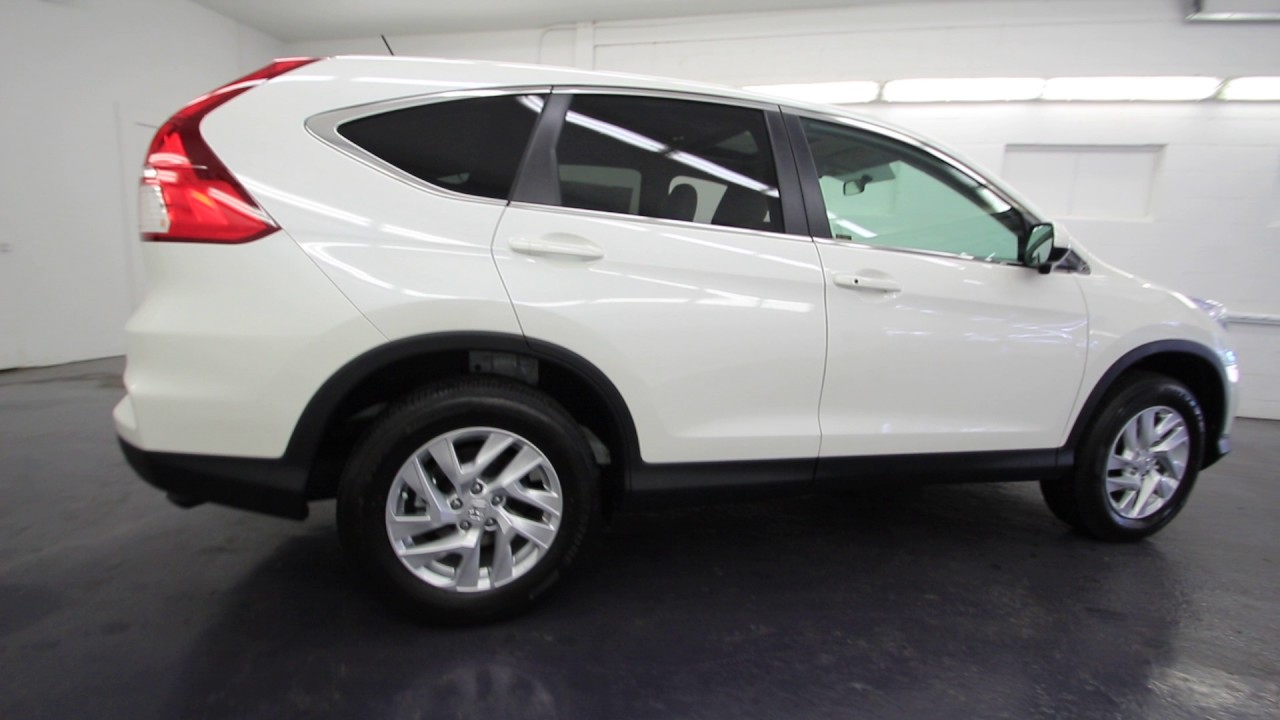 2016 honda cr v ex white diamond pearl gl104508 for Honda crv 2016 white